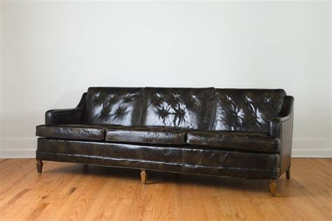 drexel leather sofa drexel mcm leather sofa homestead seattle