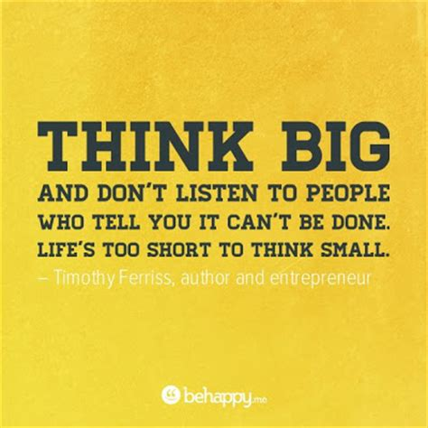 Think Big by In Between A Million Thoughts T Think Big