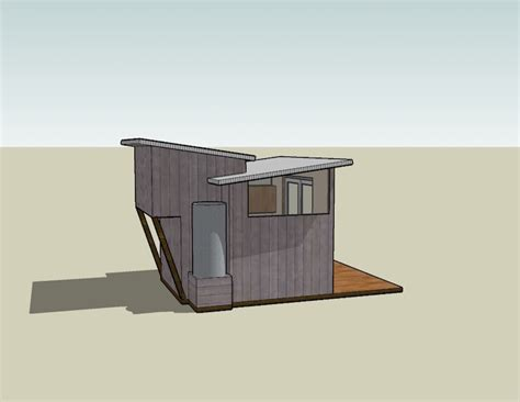 Tiny House Concept by Tiny House Design Centered On A 6 Foot Sliding Glass Door