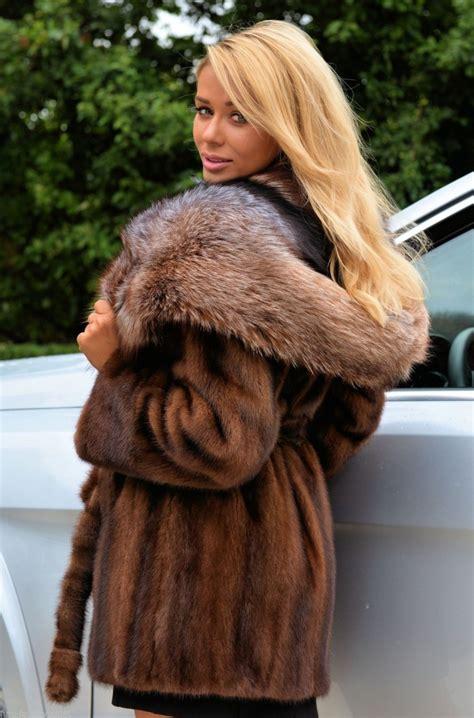 Fox With Fur by Mink Fox Fur Coat Sm Coats