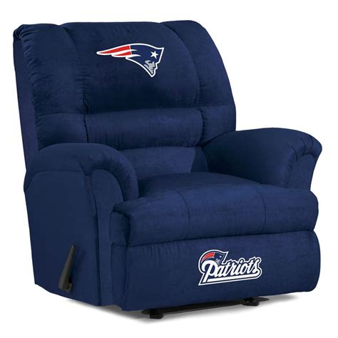 New England Patriots Furniture by New England Patriots Big Daddy Recliner