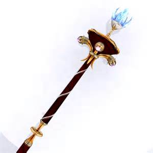 Lotus Tipped Staff Lotus By Earrindo On Deviantart