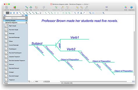 diagramming sentences software diagramming sentences software gallery how to guide and