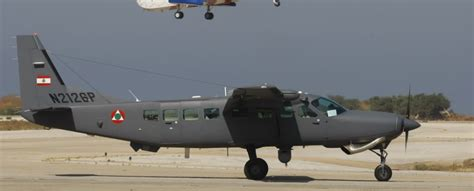 us gives lebanese army cessna aircraft edge