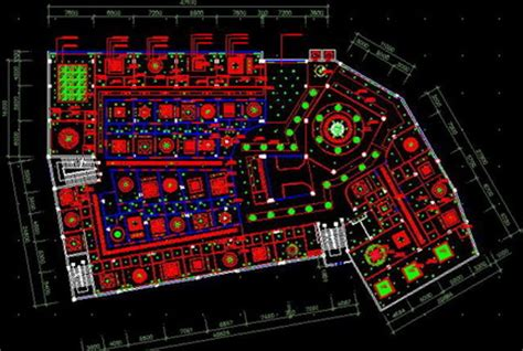 free download autocad layout plan luxury hotel top surface renovation plans free download