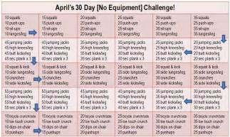 30 day workout plan for at home run pink run happy join my 30 day no equipment challenge