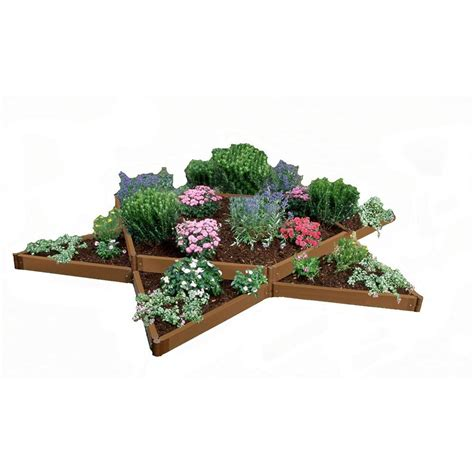 Frame It All Two Inch Series 12 Ft X 12 Ft Composite Frame It All Raised Garden Bed