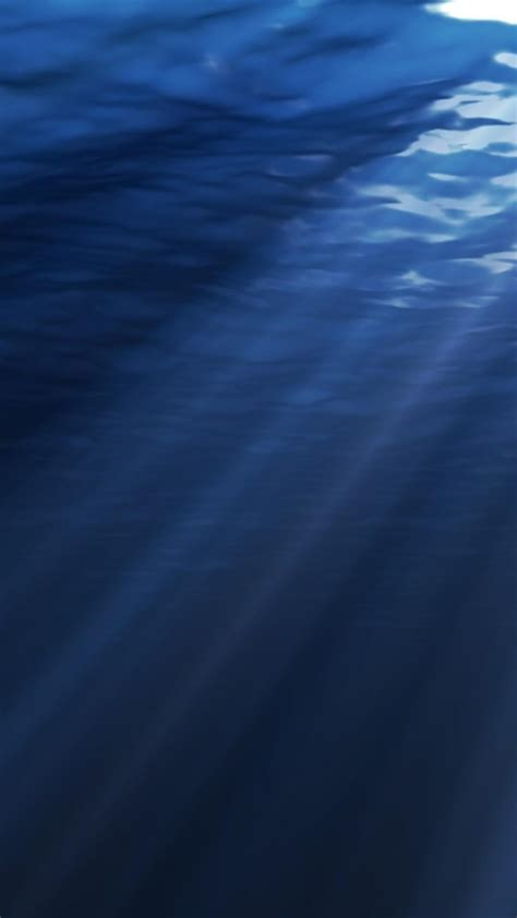 blue deep sea digital art  water wallpaper