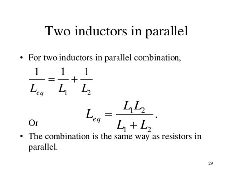 since the two inductors are in parallel the voltage across them is the same inductance reciprocity 28 images lessons in electric circuits volume ii ac chapter 4 topic