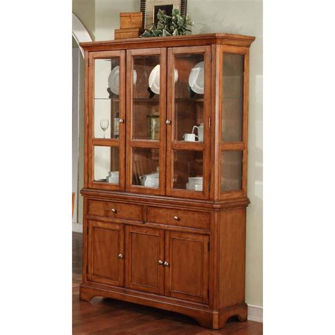 winners only china cabinet winners only 2 pc topaz cinnamon china cabinet stewart