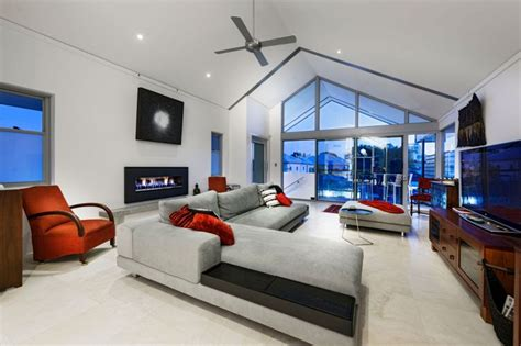 bedroom cam house living room design chatsworth house showcases vibrant red accents and visual
