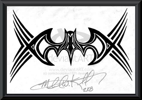 tattoo batman tribal tribal batman tattoo designs google search inkjection
