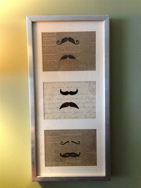 easy and inexpensive diy mustache home decor ikea ribba