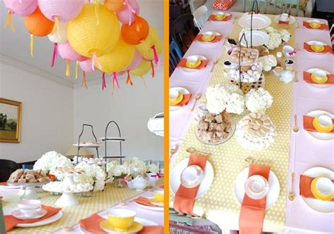 tea party baby shower guest feature celebrations  home