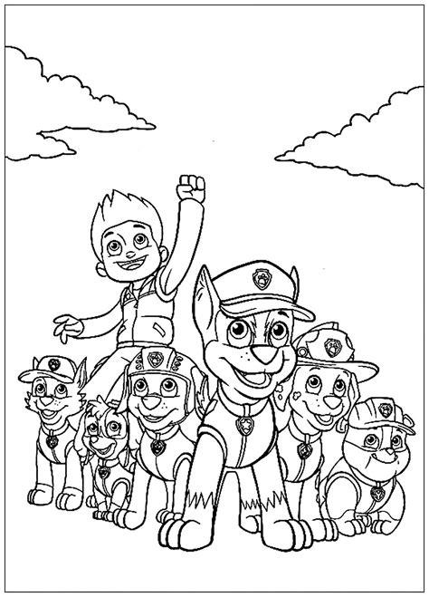 Pat Patrouille Mission Acomplie Coloriage Pat Patrouille
