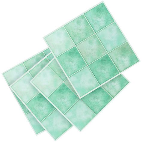 wickes vinyl tiles aqua squares 305 x 305mm 11 pack
