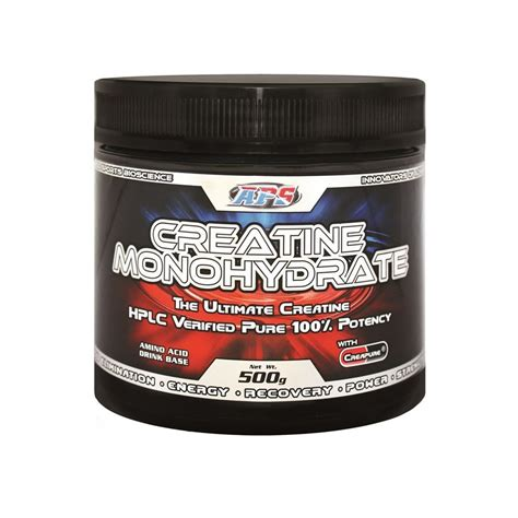 is creapure better aps creatine monohydrate with creapure 500g
