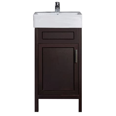 Bathroom Vanity 18 18 Inch Vanities For Bathrooms Shop Narrow Depth Bathroom Vanities And Cabinets With Free