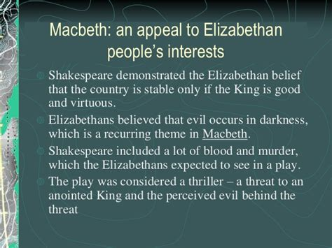 recurring themes in macbeth introduction to macbethhistoryppt 130312141421 phpapp02 1