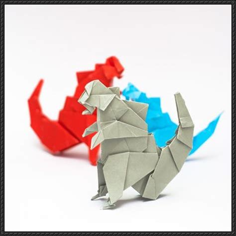 Origami Kaiju - 17 best images about godzilla gamera rodan mothra