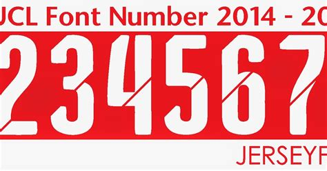 arsenal font font number of football jersey arsenal 2014 2015 font number