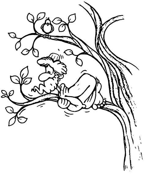 coloring page zacchaeus jesus zacchaeus and jesus bible coloring pages zacchaeus best