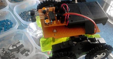 membuat robot simple cara membuat robot light following simple dan mudah