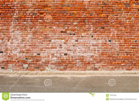 royalty free brick wall pictures images and stock photos old brick wall and road street stock image image 17075725