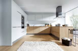 Under Kitchen Cabinet Lighting Ideas light oak and matt white modern kitchen london by