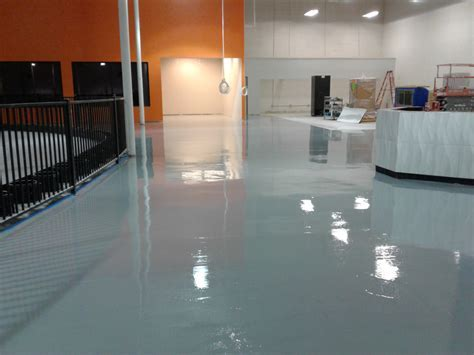 Epoxy Floor At Indoor Entertainment Park in Lithonia GA