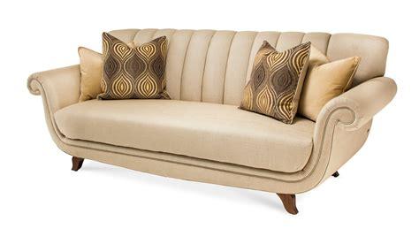 bourbon fabric sofa michael amini cloche bourbon channel back fabric