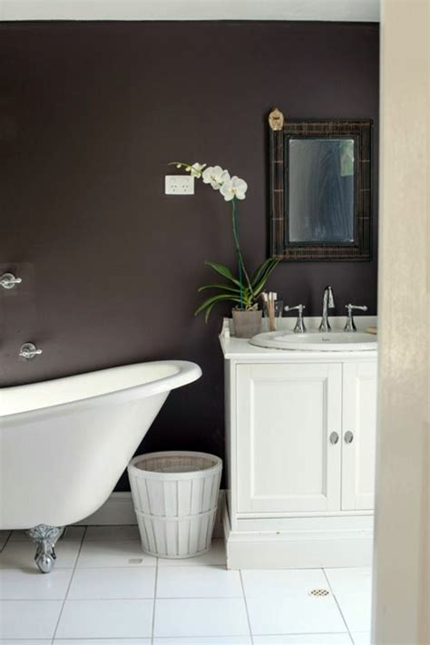 brown bathroom walls wall color brown tones warm and natural interior