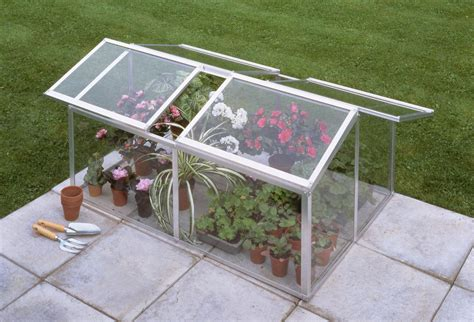 Serre De Jardin Polycarbonate 1989 by Halls Greenhouse Jumbo Cold Frame With Toughened Glass