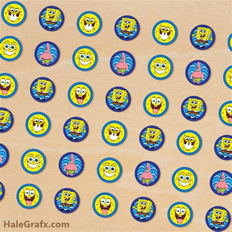 printable stickers for hershey kisses free printable spongebob squarepants hershey s kisses stickers