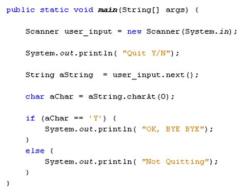 Character Letter Java The Charat Method In Java