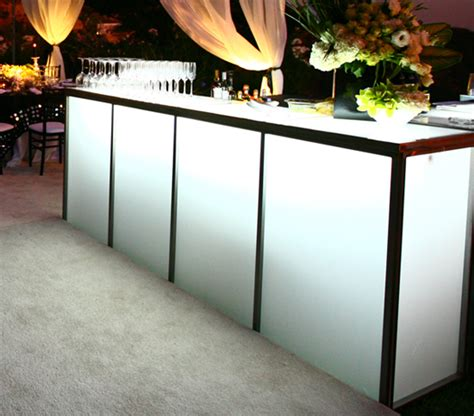 Translucent Bar Top 8 Translucent Bar Town Country Event Rentals