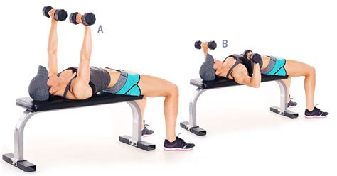 dumbbell bench press build super strength strong fitness magazine