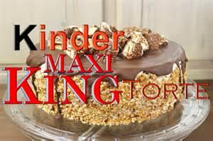 leckeren kuchen schnell gemacht kinder maxi king torte backen leckere torten selber