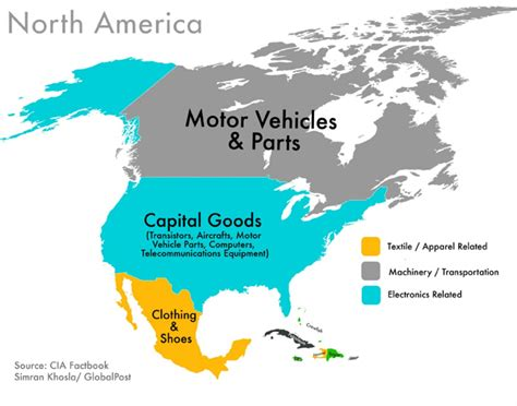 america resources map every country s highest valued export business insider
