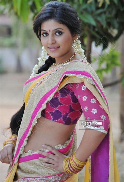 actress anjali childhood photos actress anjali hot saree pics veethi