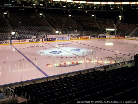 acc section 107 air canada centre section 109 toronto maple leafs