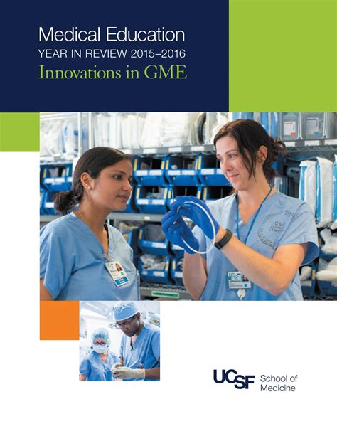 Ucsf Mba Program by Ucsf Education 2015 16 Year In Review Gme By Ucsf
