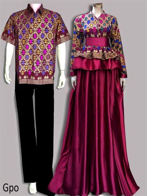Batik Pesta Batik Pasangan Sarimbit Batik Prada Rosbela model baju batik batik untuk pesta gpo