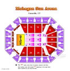 Mohegan Sun Floor Plan by Mohegan Sun Arena Seating Chart Memes
