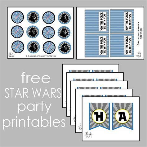 printable decorations star wars diy star wars birthday banner free printables posh tart