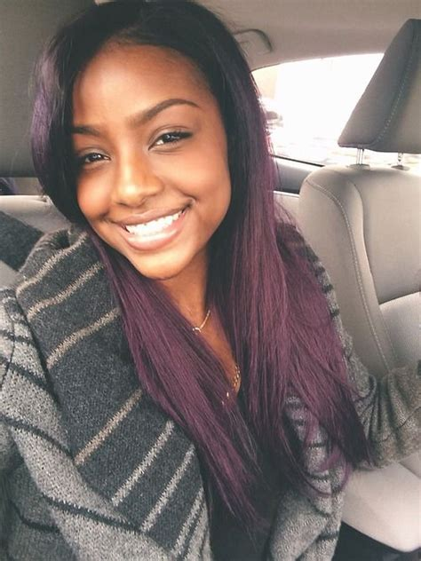 black women with purple hair top 13 cute purple hairstyles for black girls this season