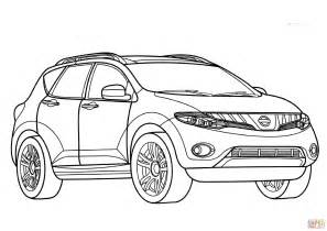 Nissan Cars Coloring Pages Nissan Coloring Pages Coloring | nissan murano coloring page free printable coloring pages