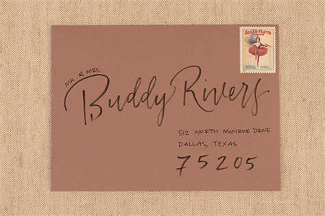 how to address wedding invitations diy envelope addressing styles