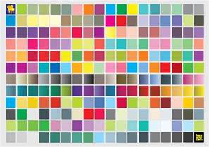 color pdf pantone color chart cmyk vector document pms to