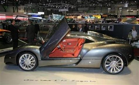 2009 spyker c12 zagato auto shows car and driver